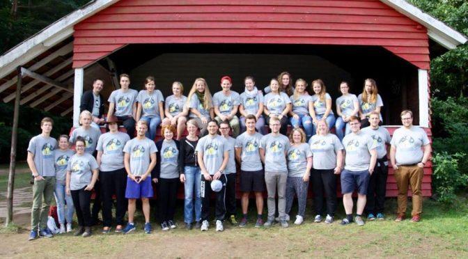 Die Betreuer des Zeltlager Landenhausen im Jahre 2016