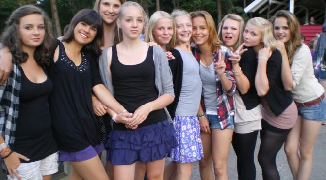 Mädels bei der Disko