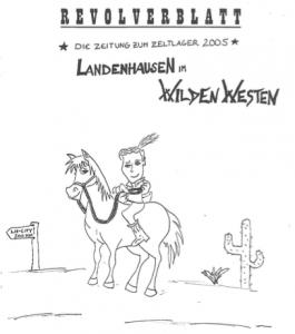 Lagerzeitung 2005 Titelbild