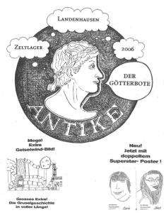 Lagerzeitung 2006 Titelbild