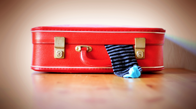 Bild eines Koffers